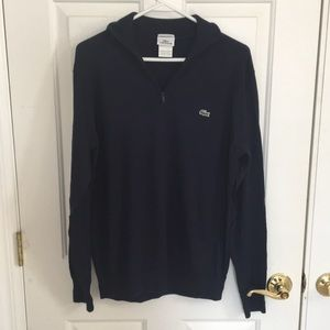 Lacoste half-zip Sweater